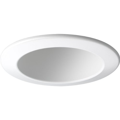 - Progress Lighting P8145-28 Open Trim UL/CUL Listed for Damp Locations, White