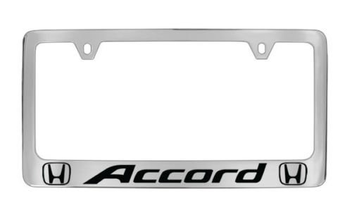chrome honda license plate - 3