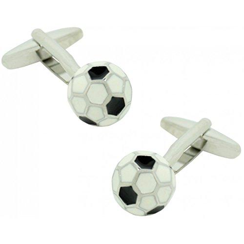 MasGemelos - Gemelos Balón de Fútbol 3D Cufflinks: Amazon.es: Joyería