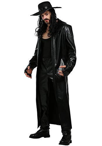 WWE Undertaker Mens Costume Small Black -