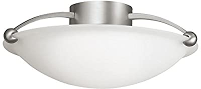 Kichler 8406NI Three Light Semi Flush Mount