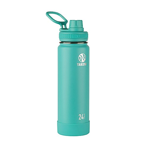 Takeya 51048 Actives Insulated Stainless Bottles, 24 oz, Teal