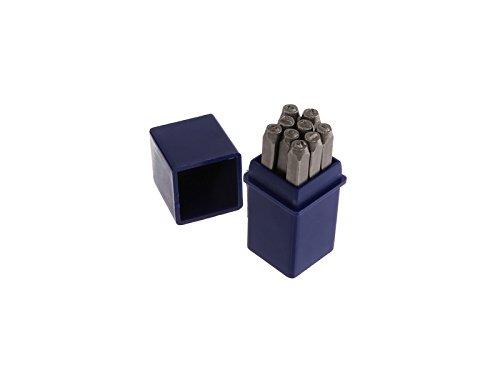 Set de poin/çons chiffres /à frapper-ziffernh/öhe 3 mm-dIN1451 police
