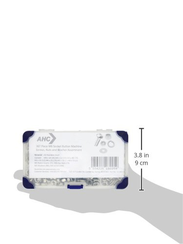 K-10068 AHC Juego de tornillos con arandelas y tuercas