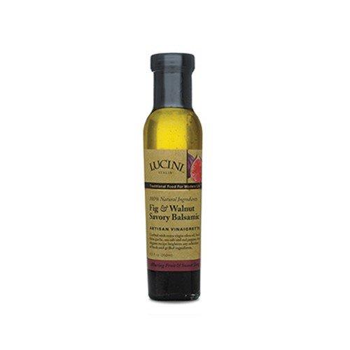 Lucini Italia Fig & Walnut Savory Balsamic Vinaigrette, 8.5 oz