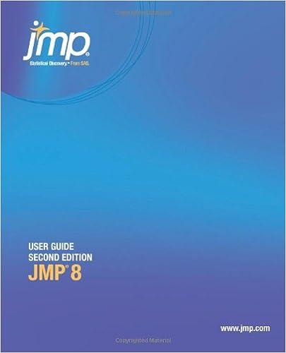JMP 8 Scripting Guide, Second Edition