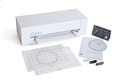 Silhouette America Curio Crafting Printer, White