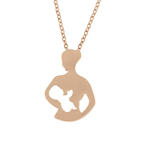 litymitzromq Gold Tone Necklace for Women Girls, Fashion Hollow Figure Pendant Chain Necklace Women Jewelry Thanksgiving…