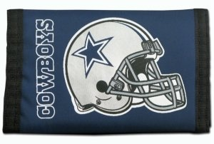 Dallas Cowboys NYLON TRIFOLD WALLET Great FOOTBALL FAN - Dallas Cowboys Trifold Wallet