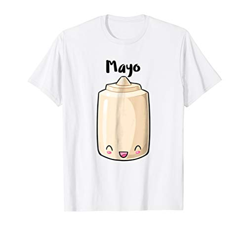 Kawaii Mayo Mayonnaise Couples Halloween Costume His & Hers