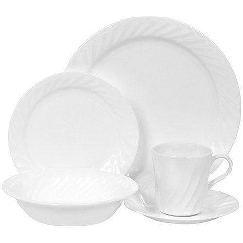 Corelle Livingware Enhancements 20-Piece Dinnerware Set, Service for 4 ()