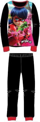 Negro Coralina Pijama de Invierno Ladybug