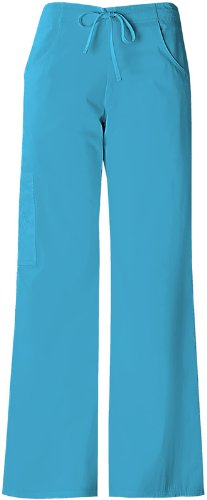 Baby Phat Womens The Pant with 5 Pockets, River Blue, XX-Large Petite