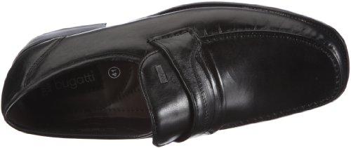 Wide Zapatos Cuero Nappasoft Hombre Clásicos Bugatti ; Extra Negro Moc De 292761s Verona Para qTn4wfW6xt