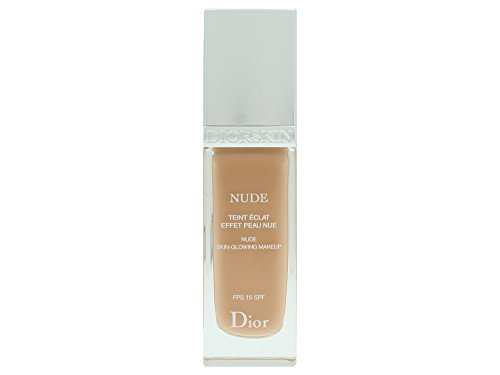 Christian Dior Nude Skin Glowing Makeup SPF 15, 040 Honey Beige, 1 Ounce Christian Dior Powder Foundation