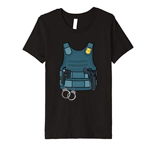 Kids Police SWAT Bullet Proof Vest DIY Kids Costume -
