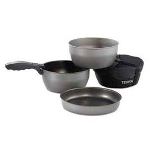 (Brunton Terra Optimus Nonstick Aluminum Cookware)