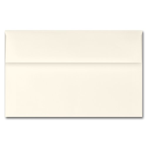 Fine Impressions Ecru Envelopes - A1 (3 5/8 x 5 1/8) 70 lb Text Vellum - 250 per Box