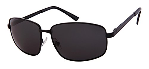 Edge I-Wear Big and Tall Square Spring Hinge Sunglasses w/ Polarized Lens - Face A Square I Have