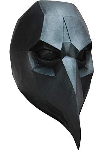 Ghoulish Productions Low-poly Polygon Black Crow Adult