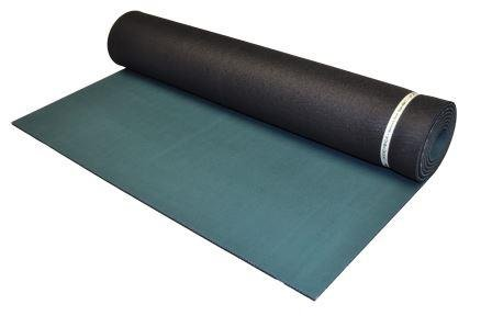"Jade Elite-S 3/16"" x 24"" x 71"" Forest Green/Black Yoga Mat"