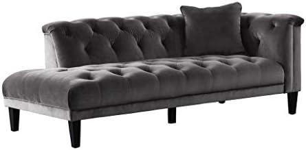 Acanva Luxury Vintage Chesterfield Tufted Velvet Living Room Family Sofa