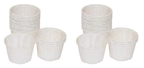 1 oz, Paper Souffle Portion Cups - Value set of 500