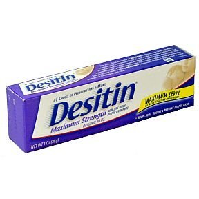 Desitin Maximum Strength Diaper Rash Paste, 1 Ounce (box of 6) ()
