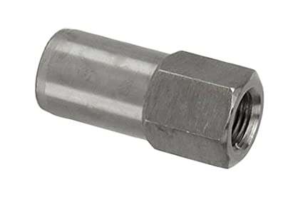 RuffStuff Specialties R1740 1/2 Inch x 20 TPI (Threads Per Inch) Right Hand Tube Adapter 3/4' Tube ID HEX End