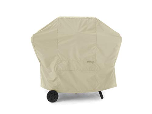 (Covermates – Grill Cover – 53W x 24D x 44H – Elite Collection – 3 YR Warranty – Year Around Protection - Khaki)