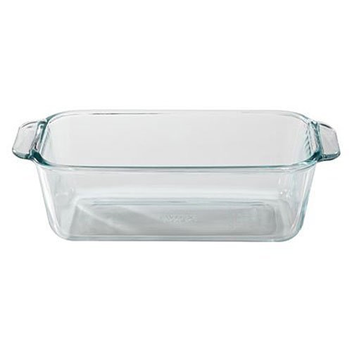 Pyrex Basics 1.5qt Loaf (Glass Loaf Dish)