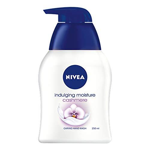 Nivea Caring Hand Wash - Indulgent Moisture Cashmere - Net Wt. 8.45 FL OZ (250 mL) Per Bottle - Pack of 3 Bottles ()