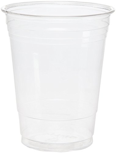 Dart TP16D 16 oz Ultra Clear PET Plastic Cup (Case of 1000)