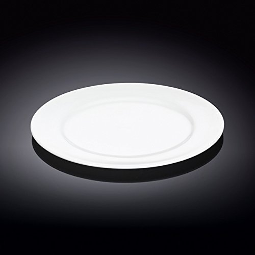 Wilmax 991006 8 in. Dessert Plate44; White - Pack of 48