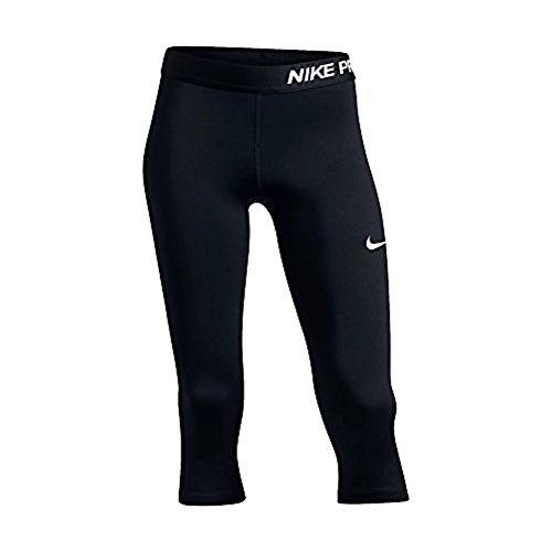Girls Clothing - Nike Pro Cool Capri (M, Black)