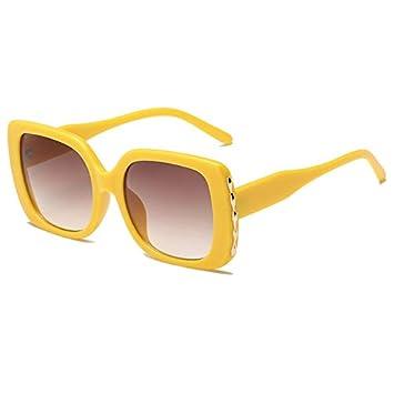 DXXHMJY Gafas de Sol Gafas de Sol de Gran tamaño para Mujer ...