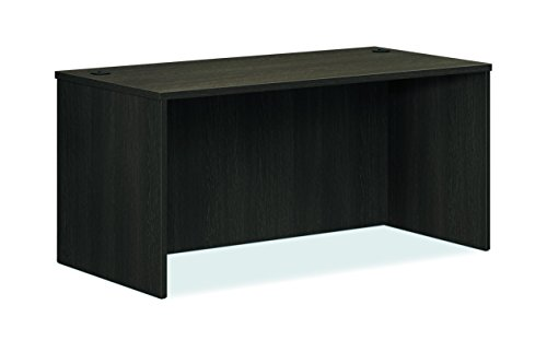 HON BL Laminate Series Office Desk Shell  Rectangular Desk Shell 60quotW Espresso HBL2103