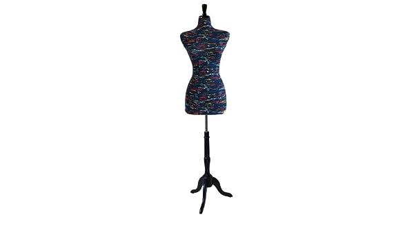 Amazoncom Female Decorative Dress Form Mannequin Print Fabric