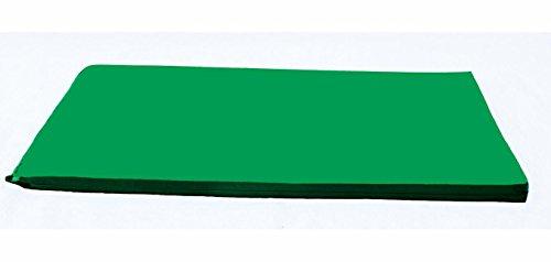 Kindermat Rainbow Designer Nap Mat Green 2 Inch Thick Nap