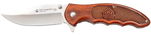 Puma-SGB-Vintage-3530-Red-Pakkawood-Folding-Knife-with-Pocket-Clip