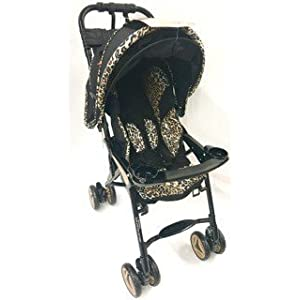 Combi Savvy Dx Stroller with Acoustic Canapy- Leopard...