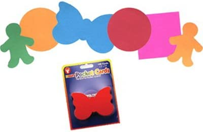 Teach Colors /& Shapes 6 Assorted Vibrant Colors Circle Paper Cut-Outs 2 Inches 100 Pcs Hygloss Products Pocket Cards Great for Pocket Charts