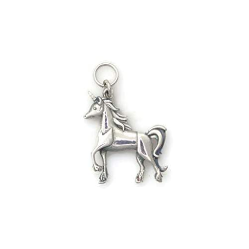 Sterling Silver Unicorn Pendant Necklace. 18   Ross-Simons