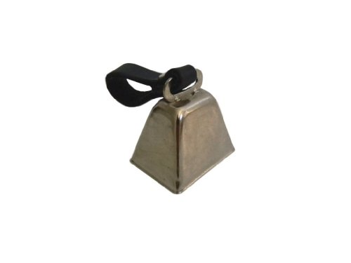 Pete Rickard DD683 Dog Bell, Nickel Plated
