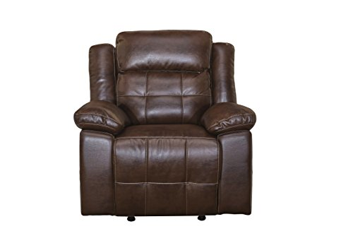 New Classic 22-2228-13PH-PEN Clayton Full Power Glider Recliner, Penny (Power Glider)