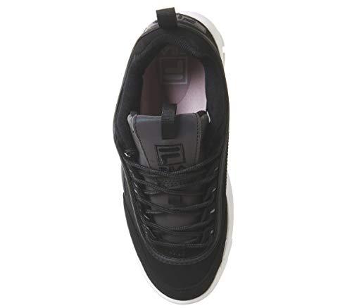 Split Premium Sneaker Donna Nero Fila Black Phaseshift Disruptor Ii SqpEIP