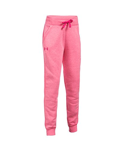 Under Armour Girls' Favorite Fleece Jogger Pants, Youth Small, Gala