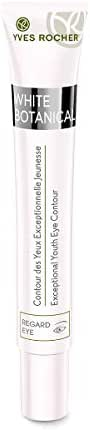 Yves Rocher White Botanical Exceptional Brightening Youth Eye Contour Cream, for Skin with Dark spots & Dull Skin, 15 ml tube