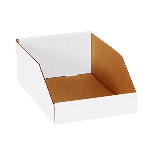 Corrugated Shelf Bins - Aviditi BINMT812 Corrugated Open Top Bin Box, 12