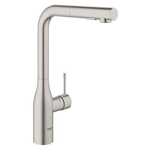 Essence Single Handle Pull Out Kitchen Faucet